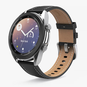 3D samsung galaxy watch 3 model