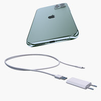Apple iPhone 11 Pro Max and Power Adapter