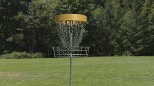 discgolf basket 3D model