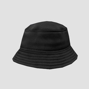 3D bucket hat model