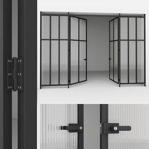3D aluminium door 3