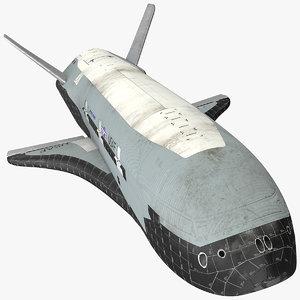 boeing x37 3D model
