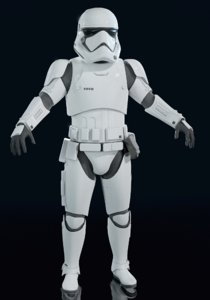 3D order storm trooper