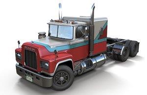 mack r truck pbr 3D model