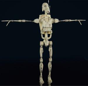 battel droid 3D