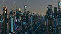 Mega Sci-Fi City Pack