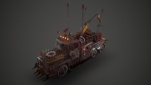battle crane 3D model