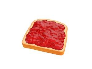 toast jam 3D model