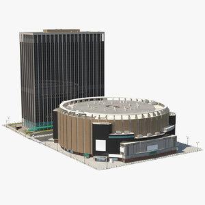 3D model madison square garden