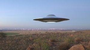 3D ufo ovni model