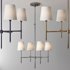 3D bryant chandeliers