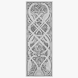3D model celt celtic ornament