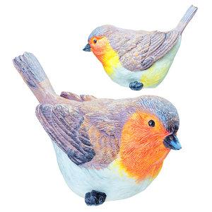 3D 03 figurine red bird
