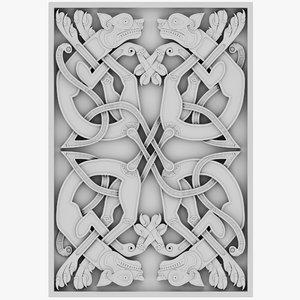 3D celt celtic ornament