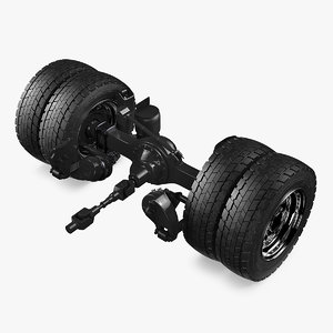 heavy duty truck rear axle model