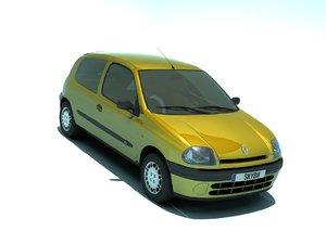 3D model clio 1998