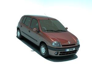 clio 1998 3D model