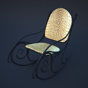 rocking chair 3D