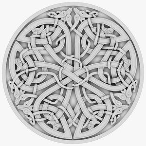 celt celtic ornament model