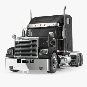 3D freightliner 122sd freight
