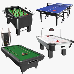 real table games billiard 3D