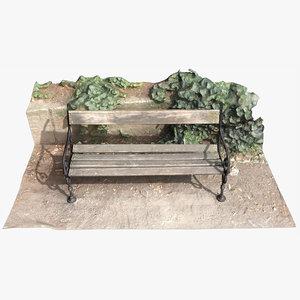 bench scan 001 3D