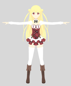 3D melida angel character