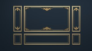 frame decor 3D model