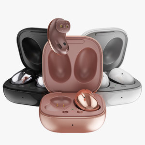 samsung galaxy buds live 3D model