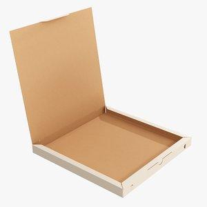 pizza cardboard small 3D model