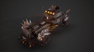 battle nux car model
