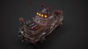 battle truck 3D