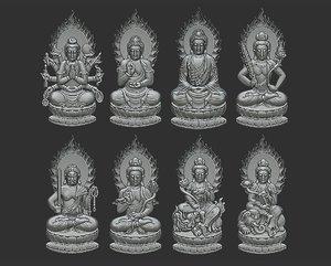 sculpture pendant 3D