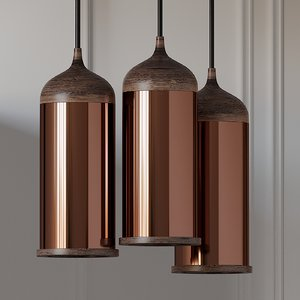steven banken copper pendant 3D