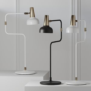 3D table lamps bankeryd model