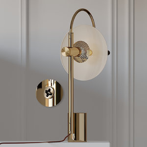 3D table lamps allied maker