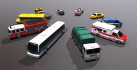 Generic civil service vehicles pack