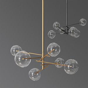3D model bolle gallotti chandelier