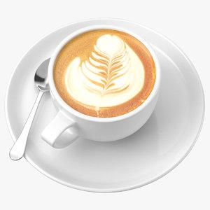 3D coffee art 04