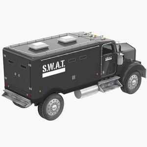 swat truck 3D