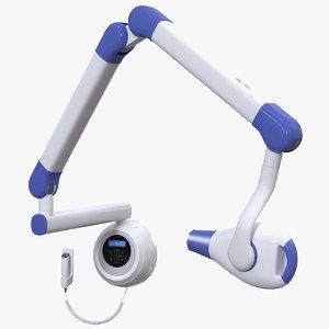 modern intraoral xray unit 3D