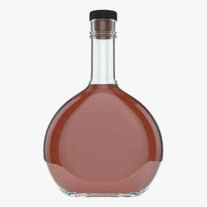 whiskey bottle 3D model