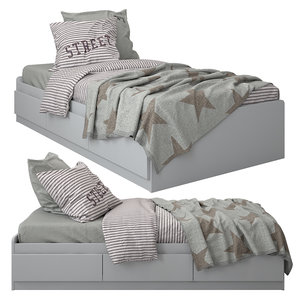 3D linen bedding
