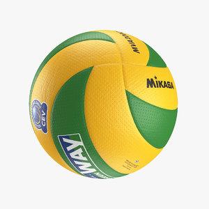 3D mikasa mva200-cev volleyball