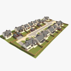 scene house 3D model