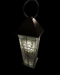 3D classic lantern model