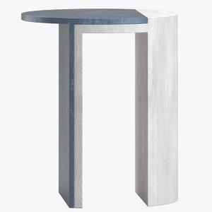 robert sukrachand gibbous table furniture 3D