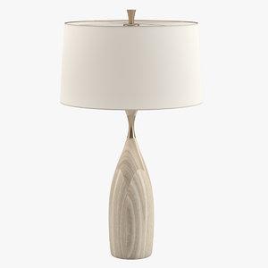 3D model gretchen lamp furniture