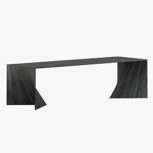 iperbole table furniture 3D