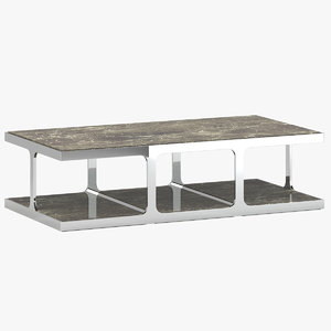 kathy kuo home coffee table 3D